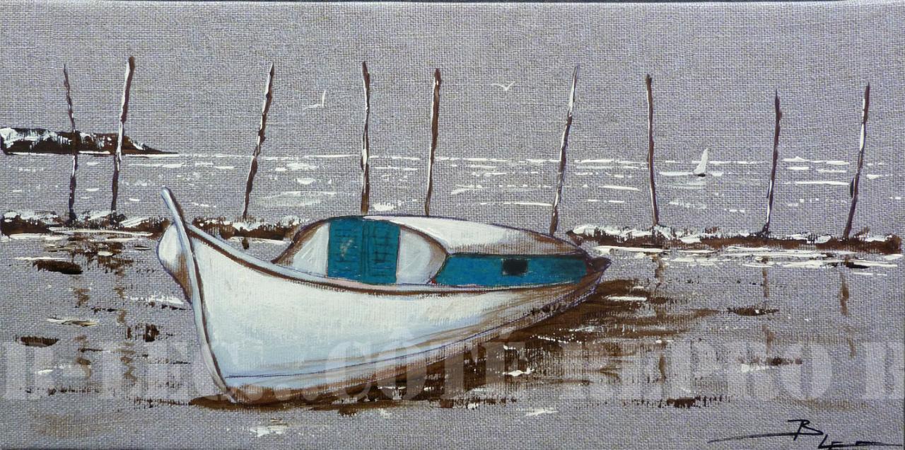 BA04 Pinasse bleue