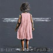 Petite fille à la mer FDM04