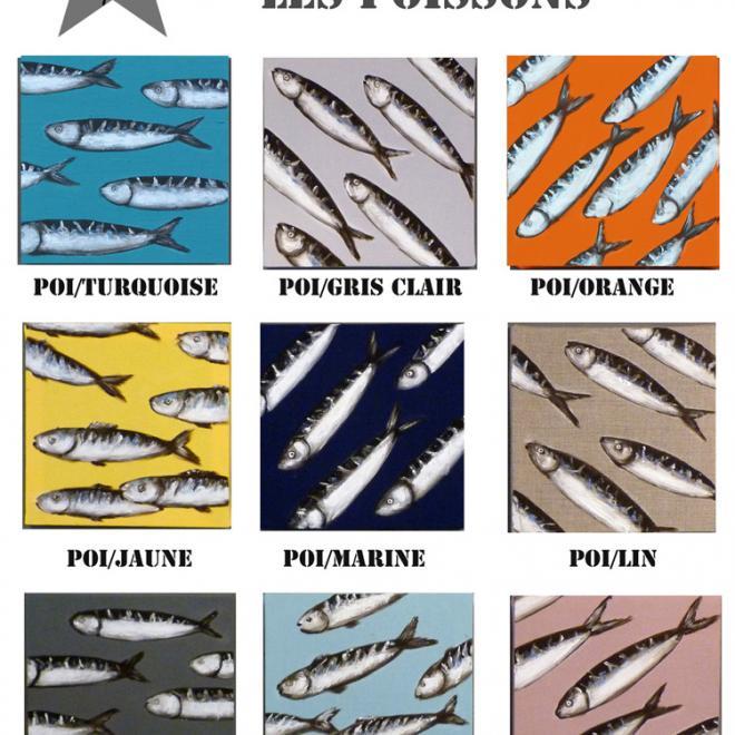 planche poissons