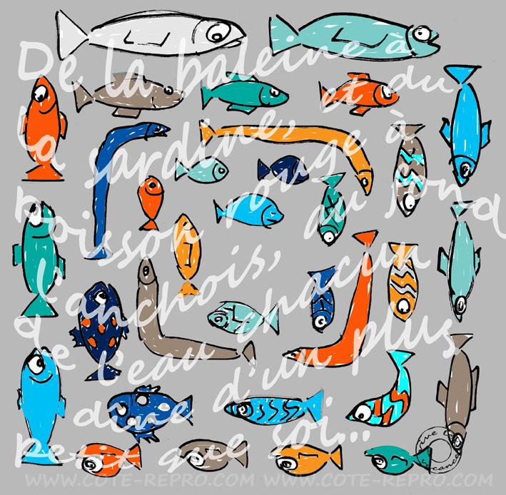 vive les vacances les poissons